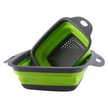 Складная корзина для мытья фруктов и овощей переносной кухонный