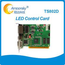 Linsn TS802D led-bildschirm senden karte voll farbe led-anzeige senden karte linsn TS802 ersetzen TS801 TS801d