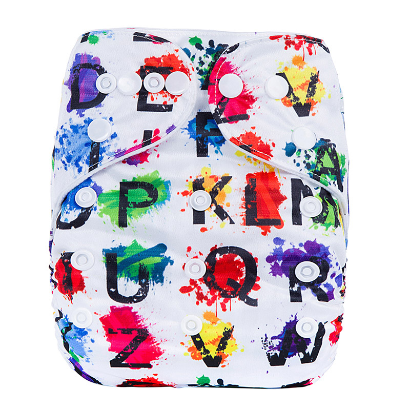 China Cloth Nappies Reusable One Size Comfort Baby Cloth Diapers Eco Friendly Baby Cotton Nappies Diapers P8