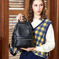 bag women 2019 new small head layer leather wholesale 9060