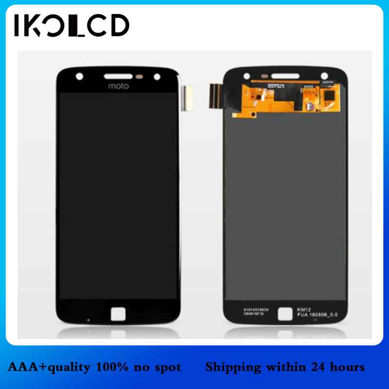 For Motorola Z Play LCD Display With Touch <font><b>Screen</b></font> Digitizer Assembly 100% Tested + Free Tools For Moto ZPlay <font><b>XT1635</b></font> LCDs <font><b>Screen</b></font> image