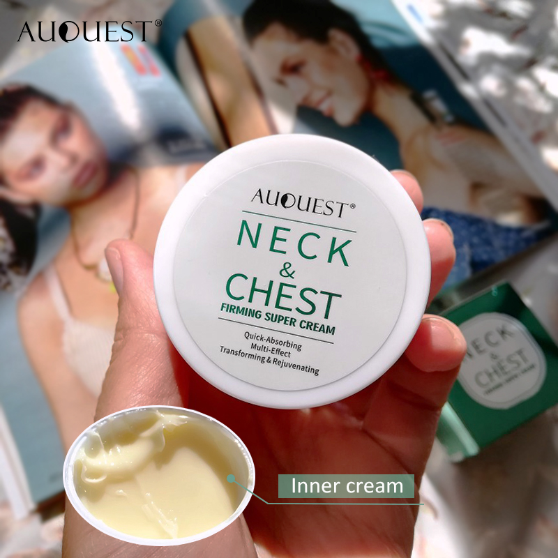 11.11 AuQuest Neck & Chest Wrinkle Cream Tight Skin Anti Aging Wrinkle Remover Lifting Skin Firming Cream Neck Cream Skin Care 3
