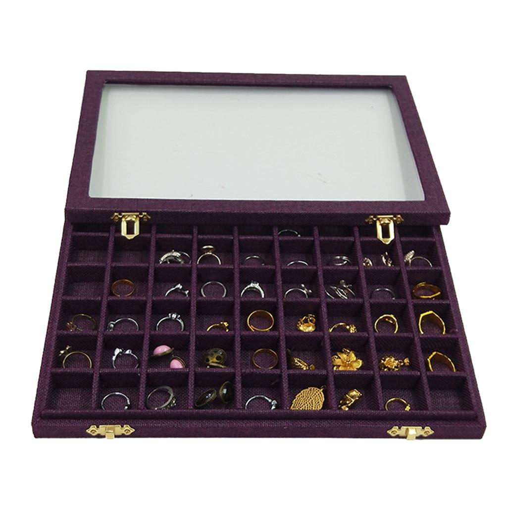 pulseira com 54 mini grades tampa vidro