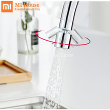 Смеситель Xiaomi Dabai для экономии воды на кране, двухрежимный барботер с фильтром против брызг и вращением на 360 градусов