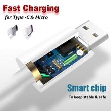 USB 3.1 Typ C Micro USB ładowarka kabel do telefonu z systemem Android szybkie ładowanie do Samsung Galaxy Huawei linia danych 1m 2m 3m linia