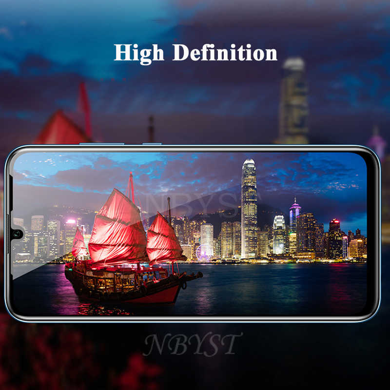 Temperli cam filmi Huawei onur V30 Pro oyun 3e görünüm V20i 20 Lite 20Pro 20X20 S not 10 şok geçirmez ekran koruyucu cam