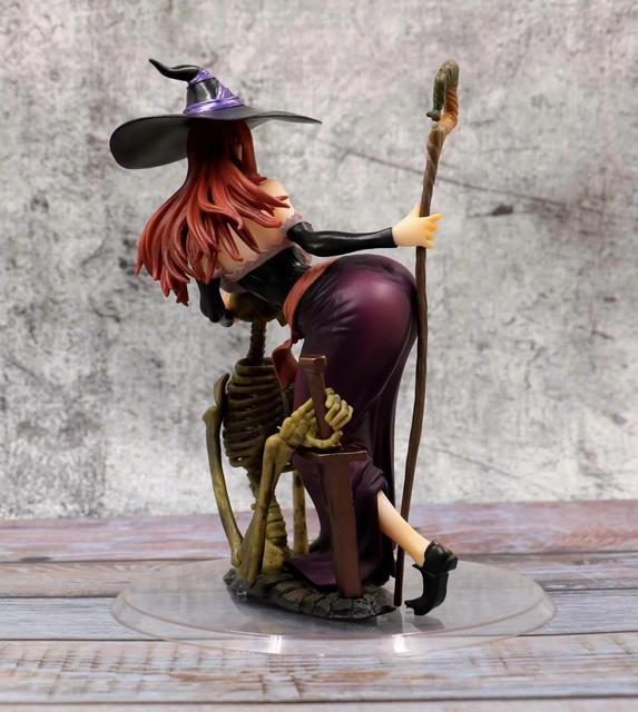 21cm Orchid Seed Sorceress sexy Action Figure PVC Collection Model toys brinquedos for christmas gift