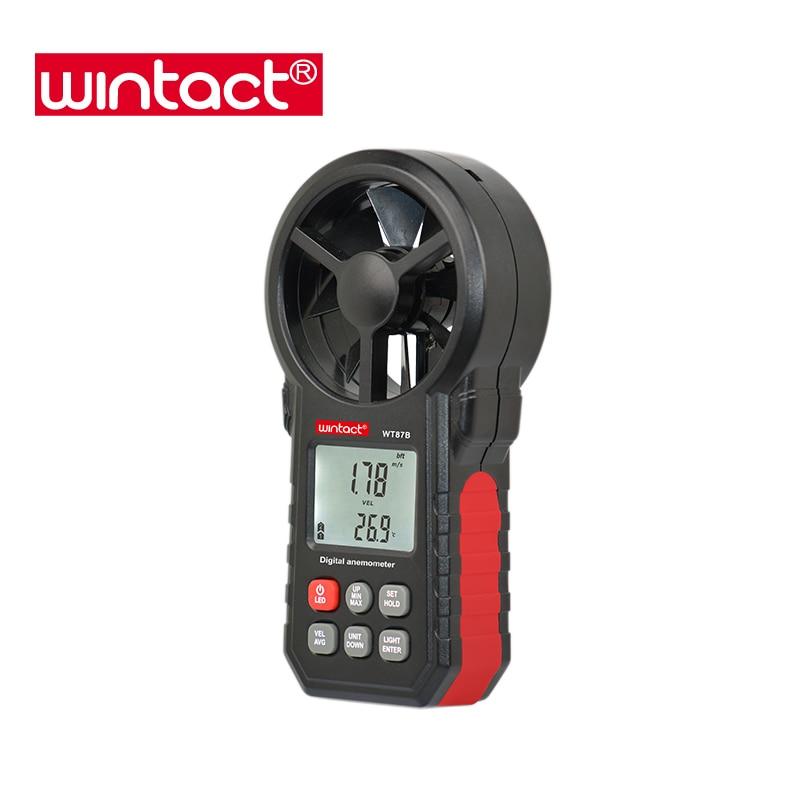 Instrumento de medição do vento vento escala anemômetro com App e software para PC