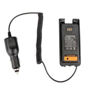 Carro preto novo/veículo carregador eliminador de bateria 12 v 24 v para banda dupla dmr retevis rt82 walkie talkie acessórios|Acessórios e Peças para Walkie-Talkie| |  -