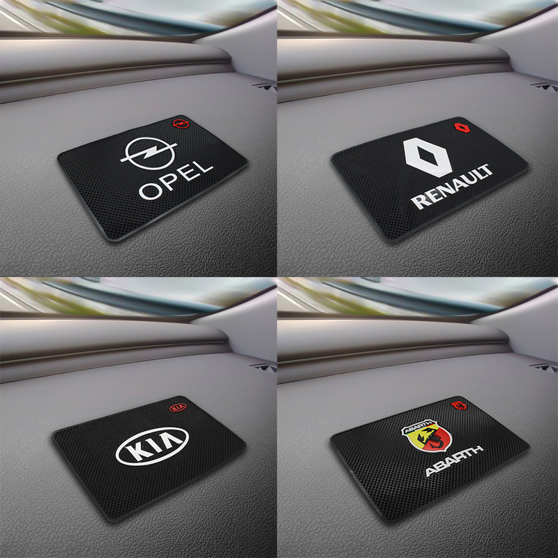 Car Anti Slip Mat GPS Phone Holder Non-Slip Mat Pad For Volvo BMW Audi Kia Renault Opel Fiat Mercedes Hyundai Honda Toyota VW