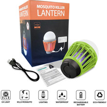 Lamp Uv Muggen Camping Lamp Tent Licht Bulbantimosquitos Electrico Draagbare Led En Nood Lantaarn Met Waterdichte Mosquito(China)