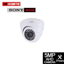 HD 5MP CCTV Zimmer Dome AHD Kamera Indoor Wasserdichte Ninght Vision IR Cut filter P2P Onvif XMEYE In Überwachung kamera Bewegung