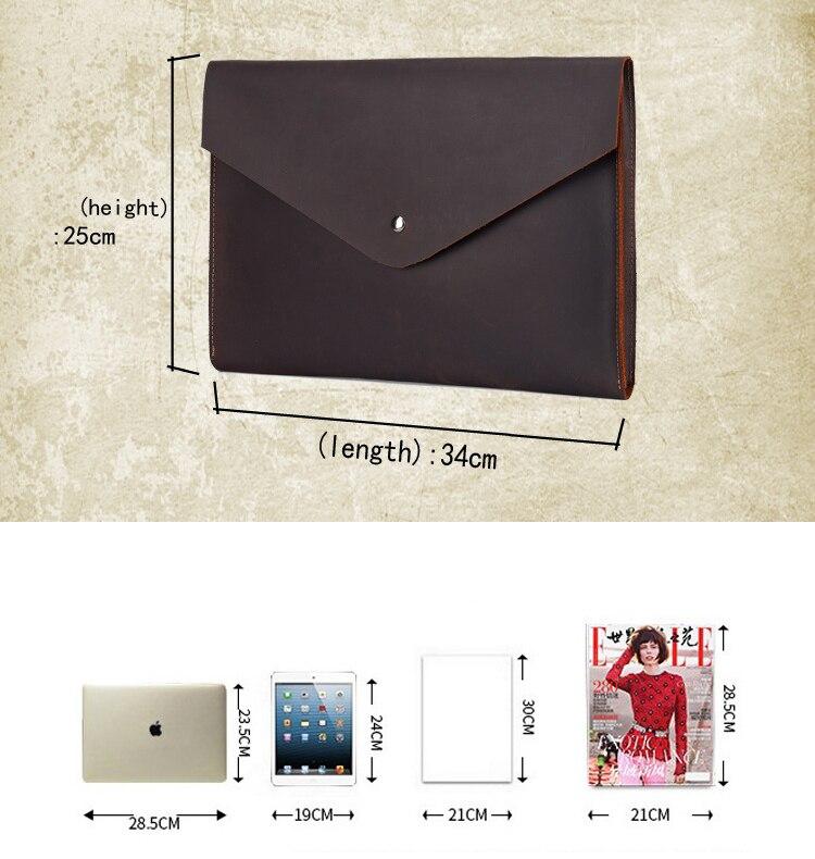 tablet caso saco de negócios leve envelope sacos