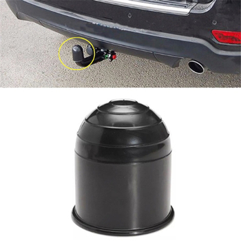 Universal 50MM Tow Bar Ball Cover Cap Trailer Hitch Towball Protect Car Accessories