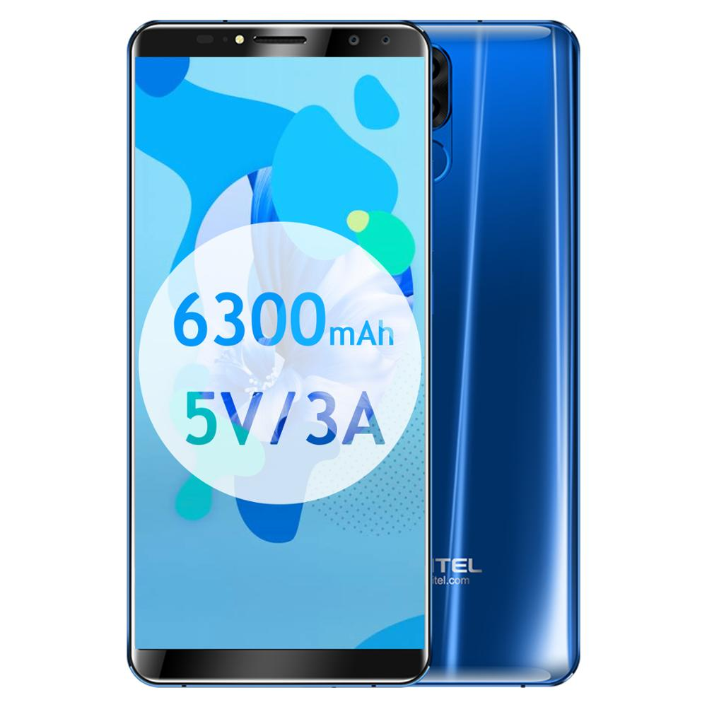 Smartphone Original avec identification faciale Oukitel K6 6300mAh 6.0