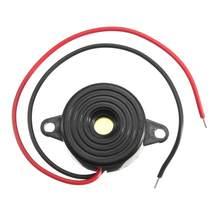 Dc 3-24v piezo buzzer eletrônico sinal sonoro carro 95db alarme campainha som contínuo para acessórios do carro automóvel