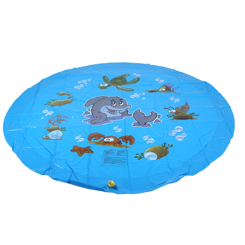 Pvc Children Inflatable Sprinkle Splash Pad Play Mat Water Toys Outdoor Party Toys For Kids Cushion Prostate Water Cushion Pat P