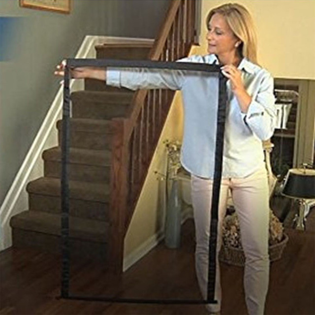 Portable Mesh Foldable Dog Fence For Indoor & Outdoor Pet Safety Enclosure  5