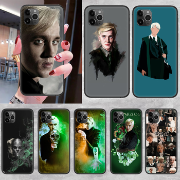Draco Malfoy Phone Case Cover Hull For iphone 5 5s se 2 6 6s 7 8 12 mini plus X XS XR 11 PRO MAX black fashion hoesjes trend image