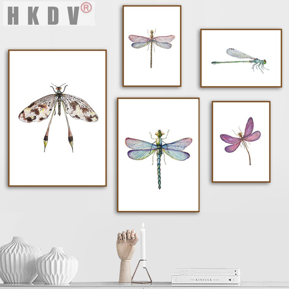 Botanical Prints Set Black White Wall art Birds Insects Dragonfly Dandelion Flowers Minimalist Posters Nordic Prints Scandinavian art Boho