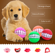 2021 Dog Toy For New Tooth Cleaning Snack Pet Products Squeak Dog Chew Toy Accessories Outdoor Puppy Pet Play Chew Balls Toy