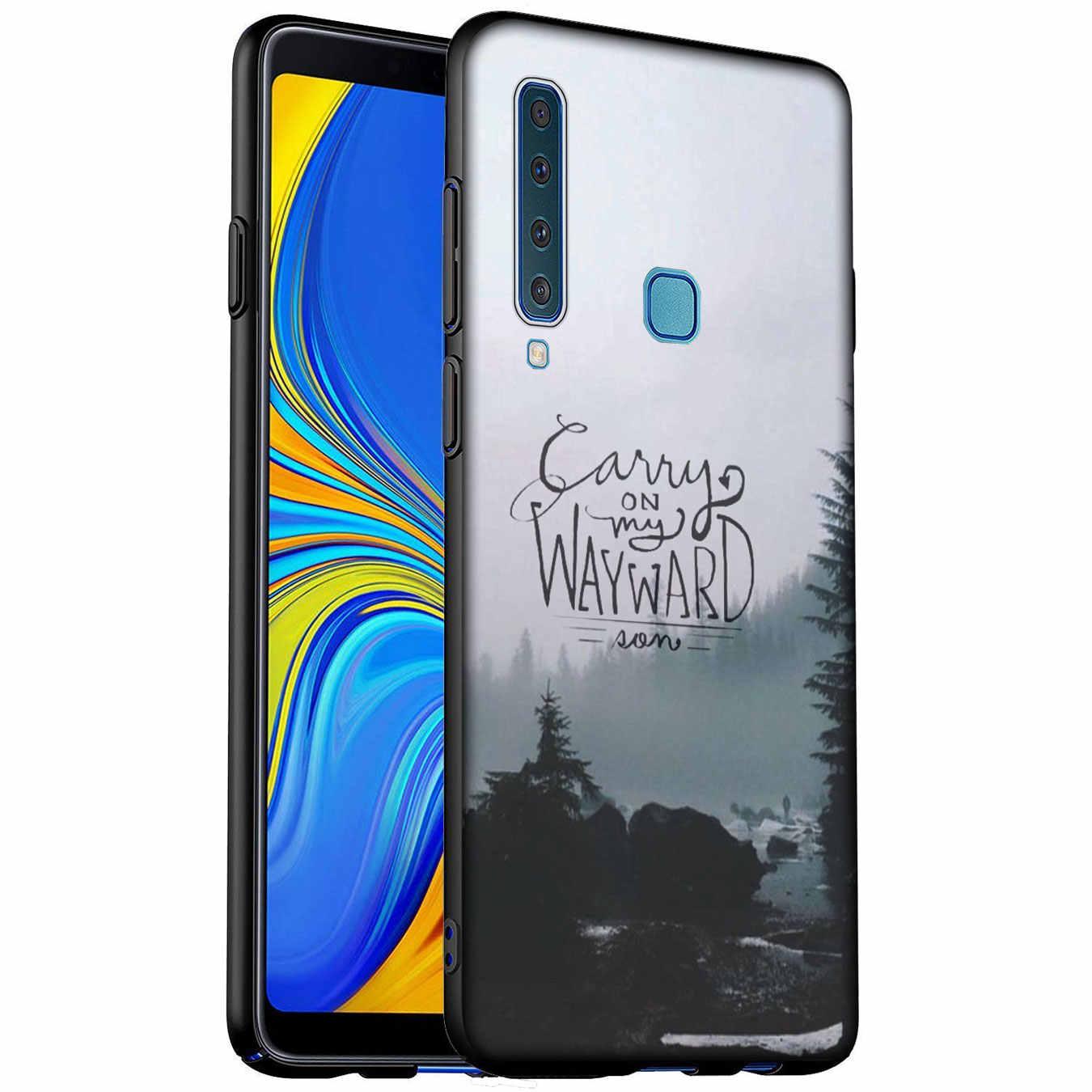 Supernatural Jared Padalecki Molle Del Silicone Cassa Del Telefono per Samsung Galaxy A6 A7 A8 A9 2018 A3 A5 2016 2017 Nota 9 8 10 più
