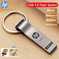 Original HP x785W Schlüssel Ring Metall USB 3,0 USB Flash Drive 16GB 32GB 64GB 128GB Hohe geschwindigkeit USB Stick Key Memory Stick Freies Geschenk