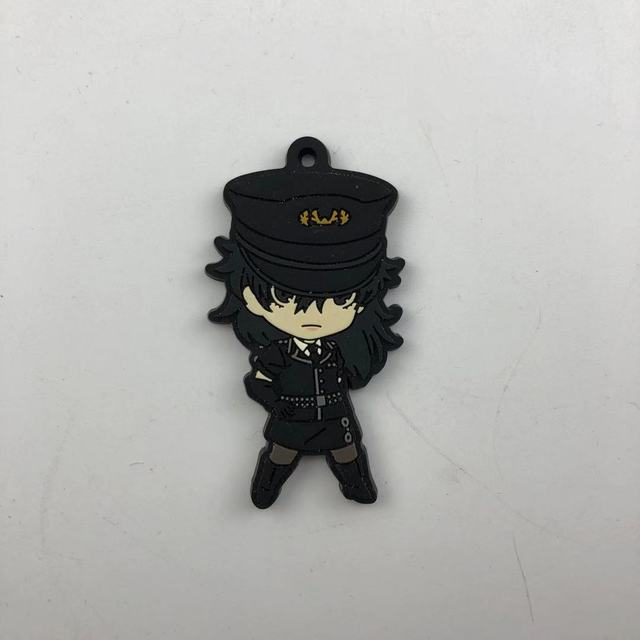 Anime Persona 5 Rubber Keychain Key Ring straps cosplay