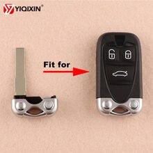 Yiqixin 1 peças/lote lâmina chave de alta qualidade substituição sem corte lâmina para alfa romeo 159 brera 156 aranha
