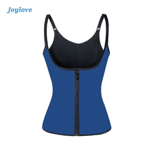 JOYLOVE Sweat Vest Waist Trainer Cincher Women Body Slimming Trimmer Corset Workout Push Up Home Warm