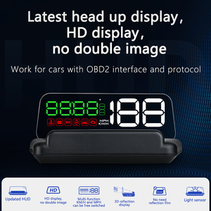 Image 2 - C500 HUDOBD2 Head Up Display Car Speedometer Windshield Projector With Reflection Board Mirror OBD2 Gauge Diagnostic Tool