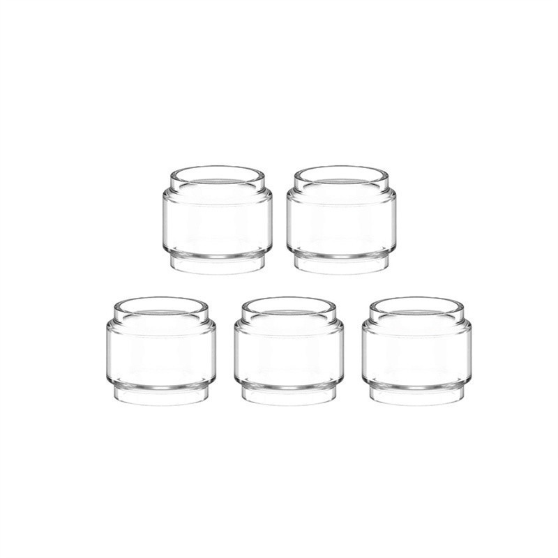 Replacement Fatboy Glass Tank For Augvape Intake Single Coil RTA/Intake Daul Coil Bubble Glass Fatboy Tube 5pcs