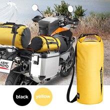 Motosiklet çantası açık PVC kuru çuval çanta su geçirmez 10L 20L 30L, omuz, çanta, dalış, yüzme, yürüyüş sürüş seyahat kitleri