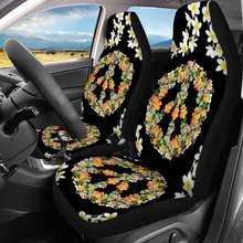 Toaddmos hippie peace sign flower черный чехол для автомобильного