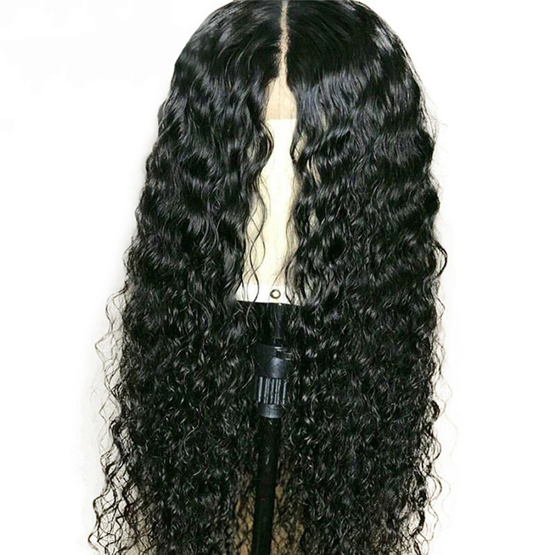 Eseewigs Silk Base Wigs Full Lace Human Hair Wig Water Wave Silk Top Lace Wigs Remy Hair For Black Women Pre Plucked Baby Hair