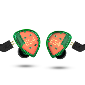 Image 2 - KZ ES4 1BA + 1DD Lai Trong Tai Nghe Chụp Tai Hifi Năng Động Lái Xe Loại Bỏ Tiếng Ồn Tai Nghe Dây Thay Thế AS10 ZSX ZSX ZST ES3 ZSN