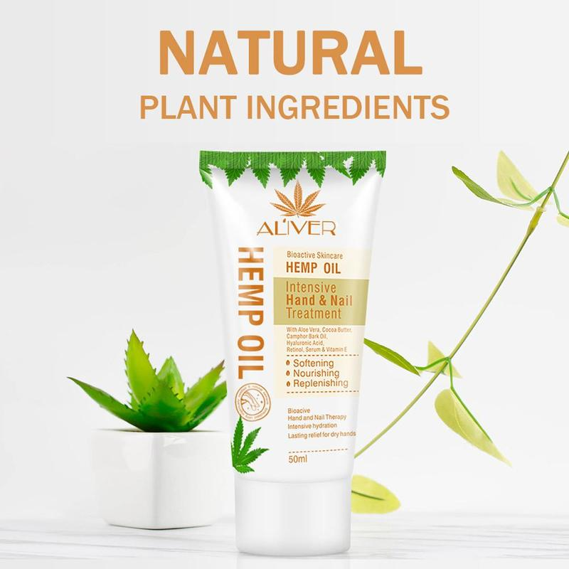 Aloe Vera Hemp Oil Body Skin Lotion Whitening Skin Nourishing Moisturizing Body Care Cream For Women Natural Herbal Cream