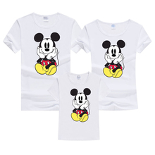 Summer Family Clothes Fashion Mother Father Daughter Son  children Family Look Matching T shirt couple clothes Summer Outfits family matching clothes summer fashion mother daughter dress father son short sleeve cotton tshirt patchwork striped family look