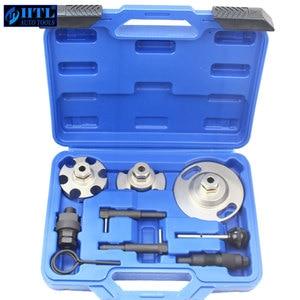 Image 1 - Motor Timing Nockenwelle Locking Alignment Entfernung Reparatur Werkzeug Für Touareg Audi A4/VAG 2,7 & Q7/3,0 Auto garage Werkzeuge