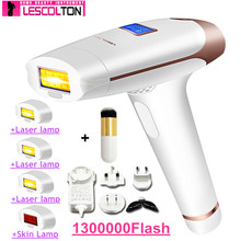 100% Original Lescolton 5in1 1300000pulsed IPL Laser Hair Removal Device Permanent Hair Removal IPL