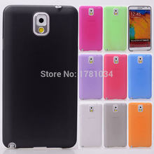 GROTE PRIJS translucent Back cover Ultra Thin Slim Matte beschermende Shell Cover Skin Case Voor Samsung Galaxy Note 3 N9000(China)
