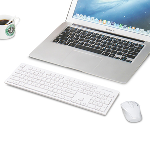 Image 4 - Motospeed G4000 2.4G Wireless Keyboard and Mouse Combo Ergonomics USB 2.0 1000DPI Mouse 104 Keys Board