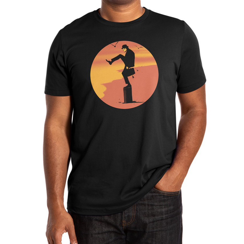 Silly Karate T Shirt karate kid movies film pop culture monty python ministry of silly walks tv shows parody image