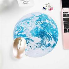 Противоскользящий удобный резина круглый компьютер мультфильм игра мышь коврик ноутбук мышь коврик красочный печать дизайн для Xiaomi