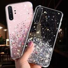 Bling Glitter Star Case For Samsung Galaxy A10 A20 A20S A30 A40 A50 A70 A80 A90 M10 S10E