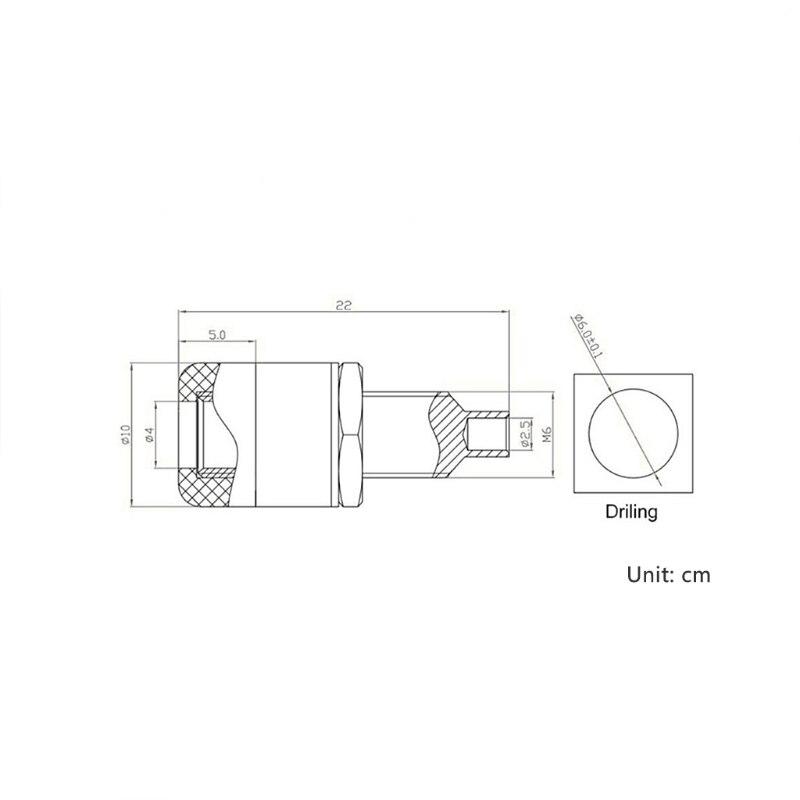 10 шт 4 мм гнездовой разъем типа «банан» Соединительный клеммы