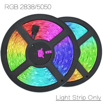 Светодиодный 12V RGB 5050/2835 только полоски светильник 5 м 7,5 м 10 м из исинской глины для украшения лампы Строка Гибкий диод с Водонепроницаемый для фестиваля Светодиодные ленты      АлиЭкспресс