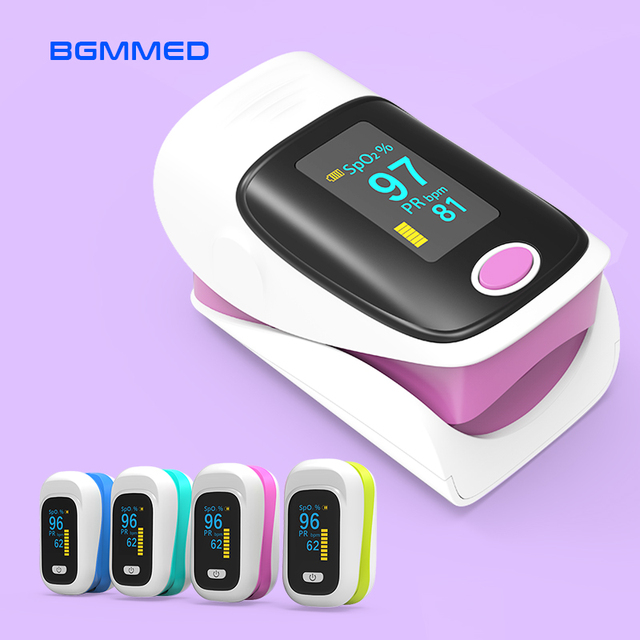 $ US $29.58 Medical Pulse Oximeter blood oxygen Heart Rate Saturation Meter Monitor SPO2 OLED digital display Oximetro de pulso CE