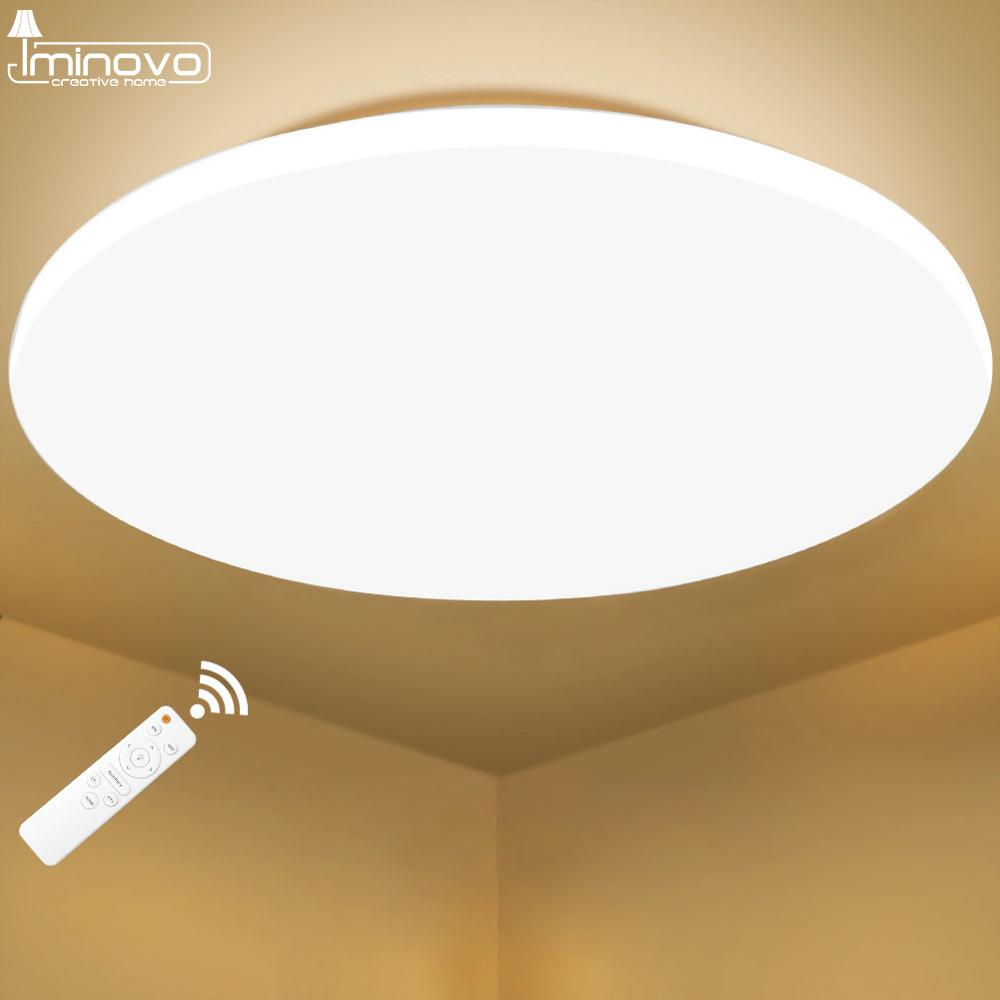 Modern LED Ceiling Light Lighting Fixture Lamp Surface Mount Living Room Bedroom Bathroom Remote Control Home Innrech Market.com