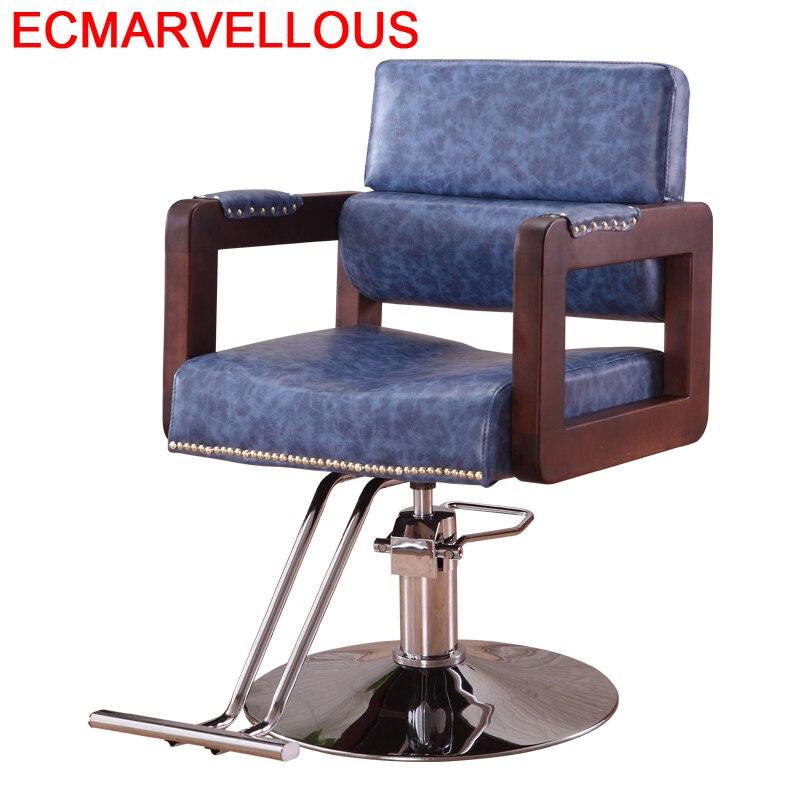 Stoelen Nail Furniture Sedie Sedia Stoel Sessel Schoonheidssalon Kappersstoelen Mueble Cadeira Shop Salon Silla Barber Chair